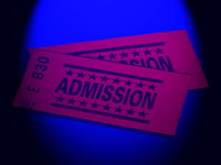 admission ticket - powerpoint backgrounds
