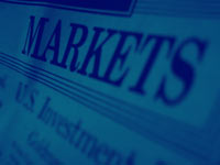 markets headline - powerpoint backgrounds