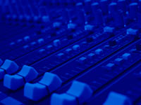mixing desk - powerpoint backgrounds