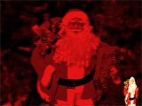 santa claus - powerpoint backgrounds