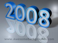 year 2008 - powerpoint templates