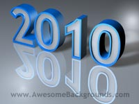 year 2010 - powerpoint templates
